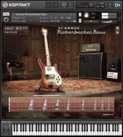 Scarbee Rickenbacker Bass для Kontakt и Kontakt Player